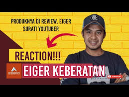 Socialblade is a premiere youtube community where you can chat with other youtubers. Reaction Eiger Surati Youtuber Duniadian Review Produk Eiger Keberatan Minta Hapus Video Youtube