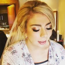 circles wedding hair makeup