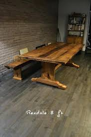reclaimed oak furniture. Furniture Reclaim Trestle Tables Threshing Reclaimed Oak Newport )