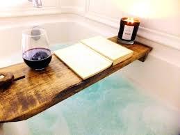 post clawfoot tub caddy soap bathroom traditional with bathtub tray cabin claw foot dark oil image 0 tub rustic bathtub bath tray poplar clawfoot