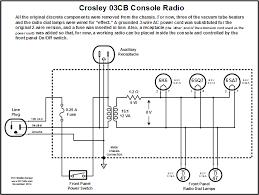 model cb crosley floor console radio restoration project crosley 03cb radio schematic rf cafe