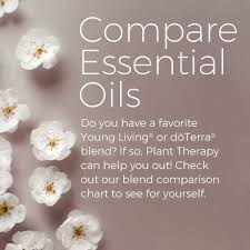 Compare Plant Therapy Oils To Young Living And Doterra