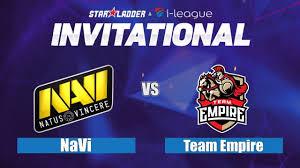 dota 2 live navi vs empire sl i league 3 empire vs navi