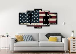 bright design patriotic wall art small home decoration ideas god bless america canvas edgy patriots 5 on american bald eagle metal wall art with valuable patriotic wall art online etsy bald eagle canvas set
