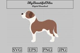 Don't forget to link back to the source. Saint Bernard Clipart Illustration Graphic By Mybeautifulfiles Creative Fabrica In 2020 Alphabet Illustration Clip Art Illustration