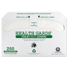 hosgreen1000 hospeco health gards green seal recycled toilet seat covers by hospeco per