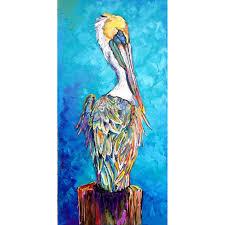 pelican azul canvas prints on pelican canvas wall art with pelican azul canvas prints becky fos