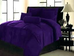 solid dark purple duvet cover sateen grant lavender fl