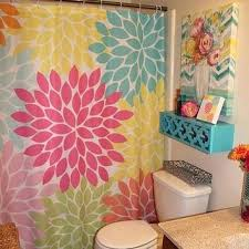 colorful shower curtains colorful mermaid shower curtain and mat multi