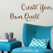 Small Picture Vinyl Wall decals Create Your Own Wall Quote Design your own