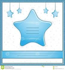 ilration de vecteur d une carte d invitation de de bébé garçon avec copye pour votre texte