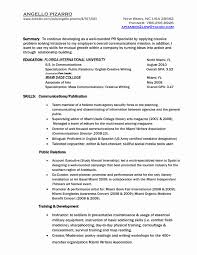 Communications Specialist Resume Sample Fresh Professional Emergency ...