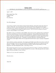 Sample Resume Cover Letter Construction Manager New Custom Writings