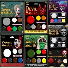 face paint halloween makeup kit dracula fancy dress costume scary accessory set 1 of 1