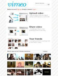 Vimeo Design Vimeo In 2005 Web Design Museum