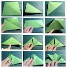 Лягушка оригами пошаговая