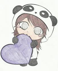 Image Result For Easy Cute Things To Draw Girls Panda Drawing