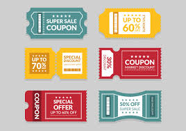 Coupon Template - Download Free Vectors, Clipart Graphics & Vector Art