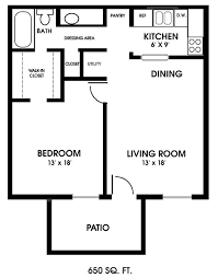 one bedroom house plans. One Bedroom Floor Plans | Clearview Apartments, Mobile, Alabama, One-bedroom House S