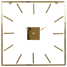 modern wall clock extra large square