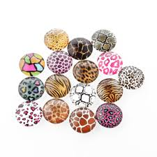 Cabochon Size Chart Details About 200 X Mix Animal Skin Print Glass Cabochon Round Dome 12mm Finding Flatback Craft