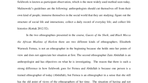 introduction to anthropology cultural final paper seelio