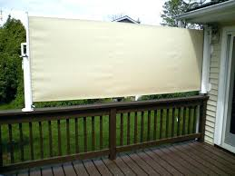 outdoor privacy shades. Patio Privacy Shades For Deck Retractable Sun Shade Outdoor . L