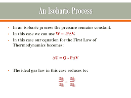 the first law of thermodynamics 15 in