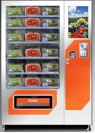 Frozen Food Vending Machines Delectable FreshVend Vegetable Vending Machine Rs 48 Piece Phoenix