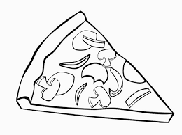 Pizza Coloring Pages For Childrens Printable For Free For Pizza