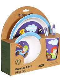 <b>Набор детской посуды</b> Bambooware - купить в Новосибирске по ...
