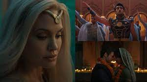 New eternals trailer introduces the. Eternals Teaser Marvel Teases Indian Style Wedding Harish Patel S Scene With Angelina Jolie Watch Hollywood Hindustan Times