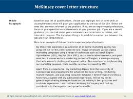 Mckinsey Cover Letter Example Luxury Ups Store Job Description For