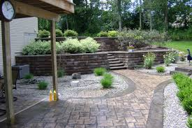 building a raised patio with retaining wall patio town reviews with regard to patio wall ideas
