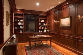 office wood paneling. Georgian Colonial Home Office Traditional With Wood Desk Wall Unit Bookcases Paneling X