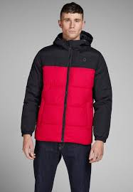 winter jacket tango red