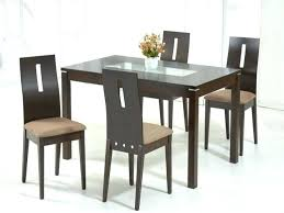 popular of dining table black glass