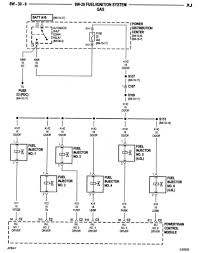 not getting power to fuel injector from pcm jeep cherokee forum the 12 volt power supply to the fuel injectors does not come from the pcm it comes from the asd relay note in the diagram that there s a splice that