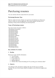 Resume Purchasing Summary Sample Vesochieuxo Inspiration Assistant