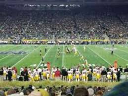 Notre Dame Football Seating Chart Rows Details About 4 Tickets Notre Dame V Virginia Tech Football Game Best Seats On Ebay 9 Rows Up