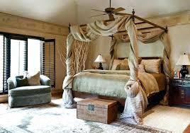 Black Wood Canopy Bed King Cherry – estellem.co