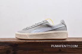 Online Puma Suede Platform Rihanna 2 363559 04 Mint Green