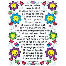 Kwwl Chart Carson Dellosa Christian The Love Verses Chart 6370