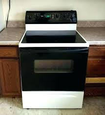 whirlpool glass top stove burner not working electric with self cleaning oven flat st