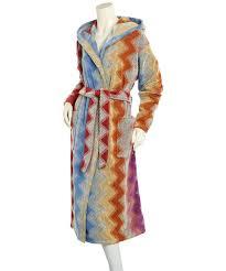 missoni missoni hooded bathrobe  blueflycom