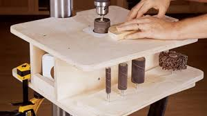 drum sander for drill. building a spindle sander for the drill press drum i