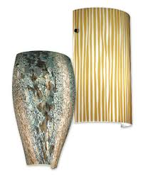 decorative glass wall sconce shades