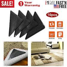 4 8 16 pcs ruggies rug carpet mat grippers non slip skid reusable washable