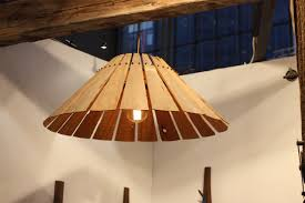 New lighting fixtures Custom Kitchen Drake Wood Lampshade Homedit Update Home Decor With Artsy New Lighting Fixtures For 2016