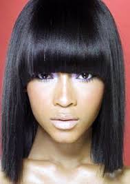 Top 9 Fascinating Black Hairstyles With Chinese Bangs Hairstyles
